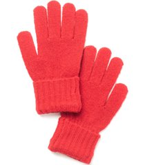 style & co rib solid gloves, created for macy's