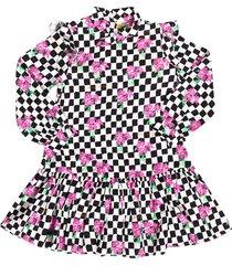 chessboard dress
