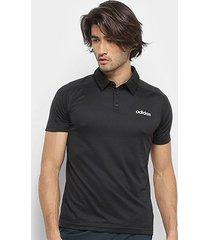 camisa polo adidas d2m masculina