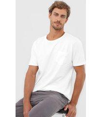 camiseta colombo bolso branca