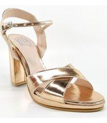 sandalia cobre euro confort