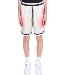 john elliott shorts in white polyester