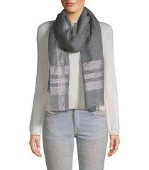 pillar bordered scarf