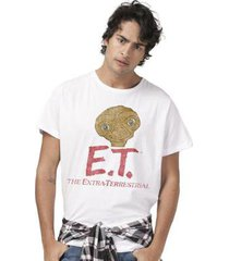 camiseta bandup! e.t. the extra-terrestrial oficial masculina