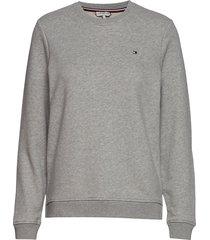 heritage crew neck sweatshirt sweat-shirt trui grijs tommy hilfiger