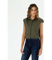 camisa para mujer topmark, camisas entero manga sisa