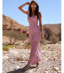 sukienka maxi z odkrytymi plecami vanity