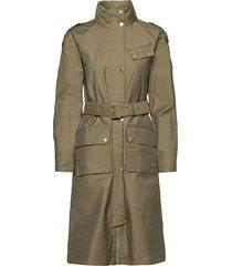 b.intl qualify jacket trench coat rock grön barbour