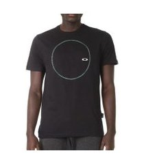 camiseta oakley spining geometric masculina
