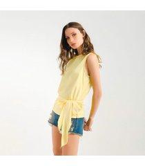 blusa para mujer amarillo - 875