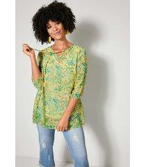 blouse angel of style geel::groen
