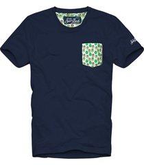 avocado pocket man t-shirt