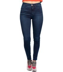 jeans roll up push up azul efesis
