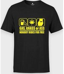 koszulka gas, grass or ass
