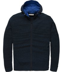 cast iron ckc205351 5287 hooded jacket cotton heather blue