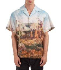 camicia uomo maniche corte canyon bowling