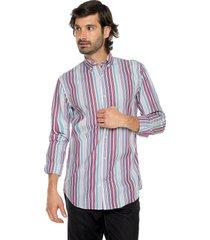 camisa 712/37 preppy ml cfit rayas bd