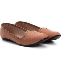 sapatilha moleca básica slipper feminina