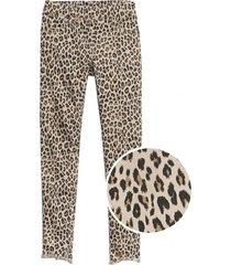 jeans leopardo jegging café gap