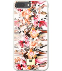 richmond & finch marble flower case for iphone 6/6s, iphone 7, iphone 8 plus