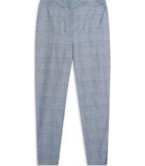 pantalón mujer chino cuadros color azul, talla 12