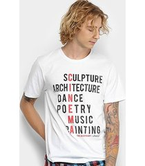 camiseta manga curta coca-cola estampada frase masculina