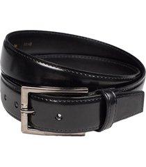 cinturon de cuero negro arrow