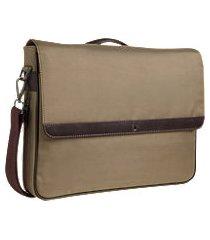 jos. a. bank nylon & leather briefcase