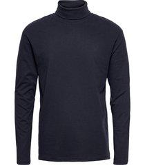 jjeriley tee ls roll neck sn t-shirts long-sleeved blå jack & j s