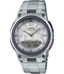 reloj aw-80d-7a2 casio plateado