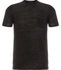 rag & bone owen black t-shirt m272t16jv