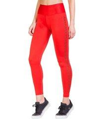 legging long leisure rojo ngx