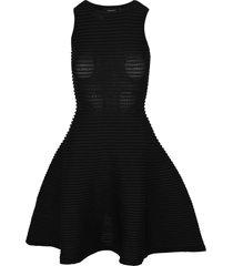 d squared chic viscose paneled a-line dress