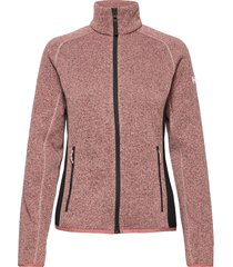 w varde fleece jacket sweat-shirts & hoodies fleeces & midlayers rosa helly hansen