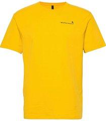 runa roadmap ss tee m's t-shirts short-sleeved gul klättermusen