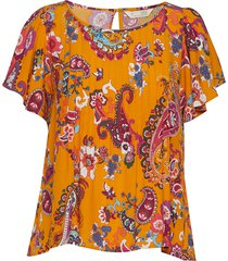 knock-off top blouses short-sleeved oranje odd molly