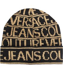 versace jeans couture knitted hat