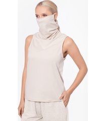 bam by betsy & adam tank top with attached mask, created for macy's