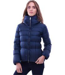embossed short add down jacket