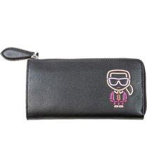 karl lagerfeld zip around wallet