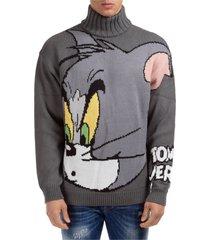 maglione maglia uomo girocollo tom