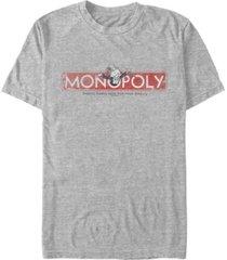 fifth sun men's logo distressed short sleeve crew t-shirt
