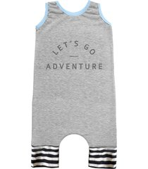 pijama regata comfy adventure cinza
