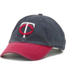 '47 brand minnesota twins mlb clean up cap