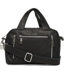 donna urban bags top handle bags zwart nunoo