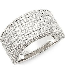 sterling silver embellished ring