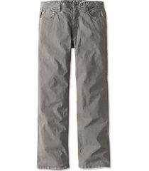 5-pocket stretch twill pants, granite, 40, inseam: 34 inch