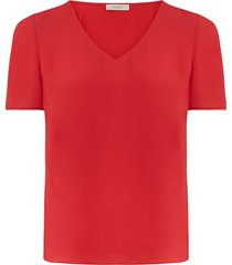 curve v neck t-shirt