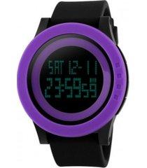 reloj revive kr0727 negro silicona mujer