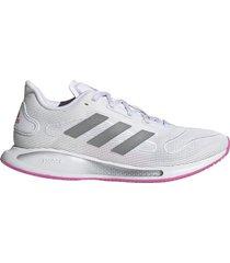 zapatilla blanca adidas galaxar run